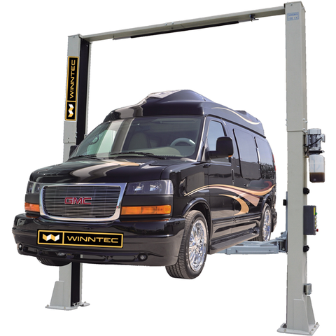 GTS Garage Equipment GT-W8215E - 5.5 Ton Commercial vehicle 2 post lift - 3 stage arm
