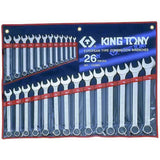 GTS Hand tools 1226MR - King Tony 26 PC. Combination Wrench Set
