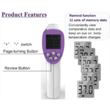 GTS Non-Contact Thermometer GT-TM1 - Infrared Non-Contact Temperature Thermometer Digital