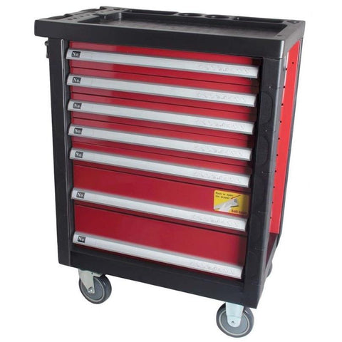 GTS Toolchest GT-TT7 -  197 Pc 7 Drawer Tool Trolley