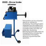 GTS Workshop Equipment GT-202D -  Brake Disc Lathe - Vehicle 220V