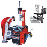"GTS Workshop Equipment GT-LC890S - Bright Swing Arm Tyre Changer with helper arm, rim width 3"" - 12"", clamping range 12"" - 24"" (semi auto)"