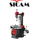 "Sicam Workshop Equipment GT-EVO620  - Sicam Pneumatic tilt back tyre changer Rim width → 3"" – 11"" Inside clamping range → 12"" – 25"""