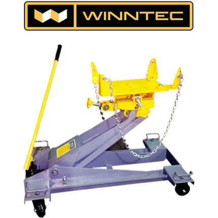 WINNTEC Jack GT-GBTJ – Winntec 1.5 Ton gearbox jack - trolley type with cradle