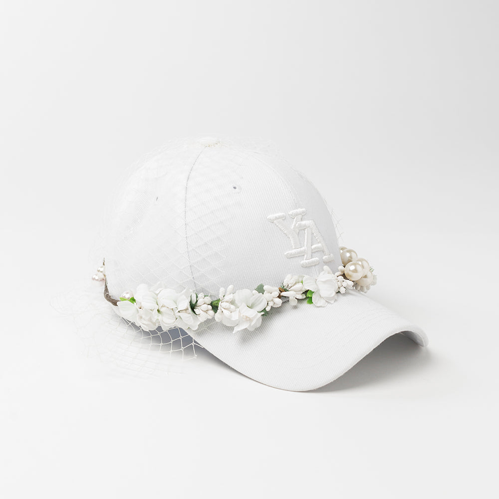 White Crown baseball cap