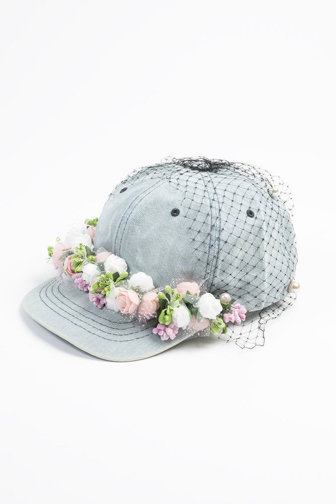 Romance in Blue baseball cap