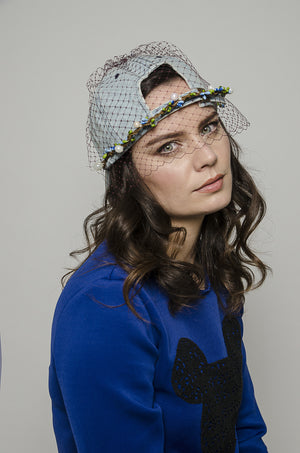 Lily Denim Baseball Cap