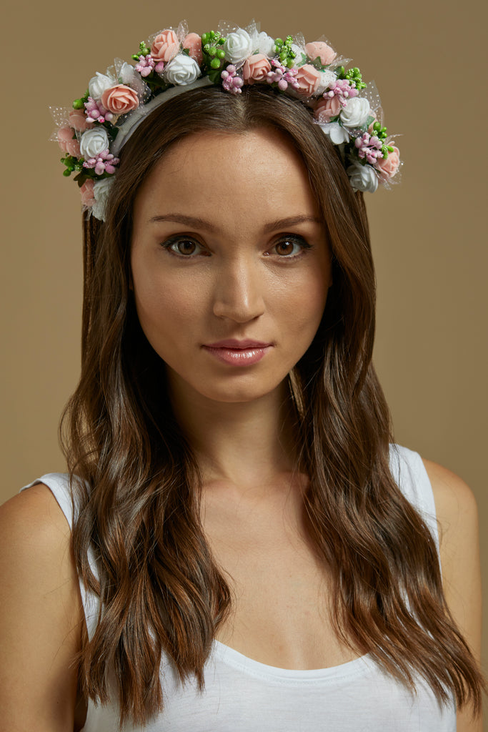 Flower Goddess headband