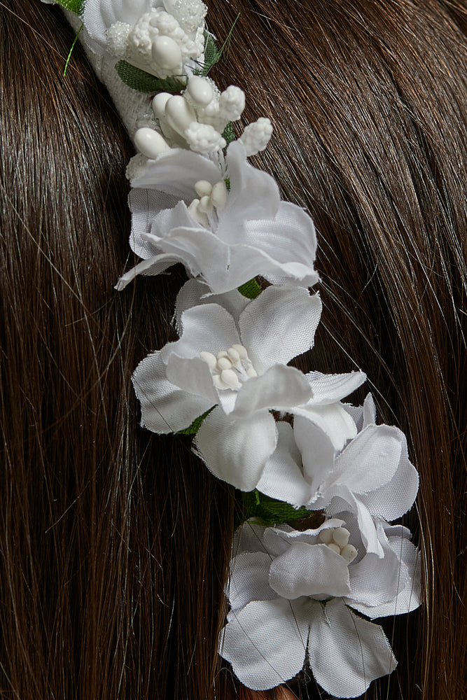 Blossom and Pearls headband