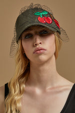 Cherry Lips baseball cap