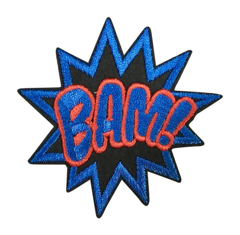 BLUE BAM! 2.5 INCH FUN PATCH