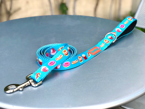 "NEW LIMITED EDITION! ""JUNK FOOD"" 6ft Leash (PRE-ORDERS ONLY)"
