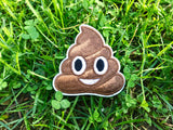 """DOODY the POOP EMOJI"" 2.5 INCH FUN PATCH"