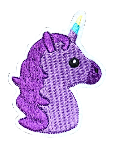 PURPLE UNICORN 2.5 INCH FUN PATCH