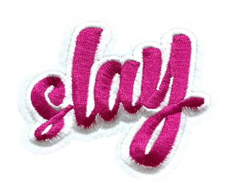 """SLAY"" 2.5 INCH FUN PATCH (Pre-orders only)"