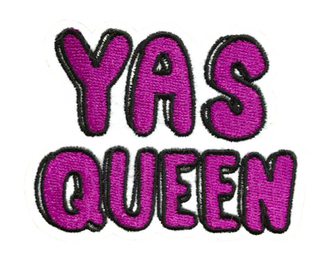 """YAS QUEEN"" 2.5 INCH FUN PATCH (Pre-orders only)"
