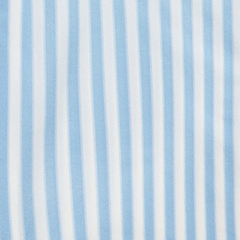 Nylon Stretch Bold Stripe - Blue