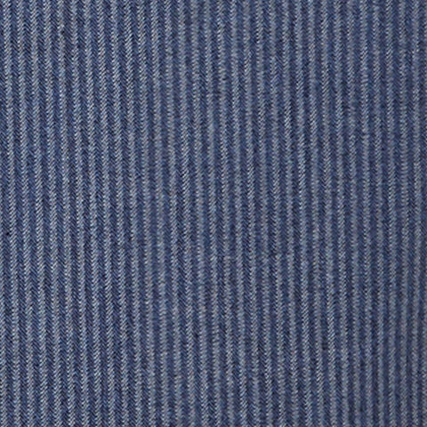 Denim Herringbone - Deep Indigo
