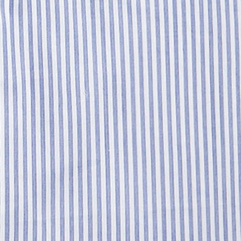 Herringbone Micro Stripe - Navy
