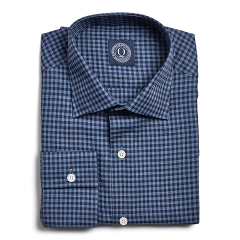 Flannel Gingham - Navy