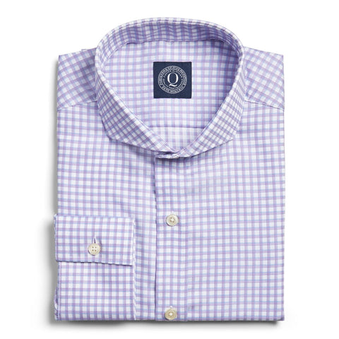 Stain Resistant Multi Check - Lavender