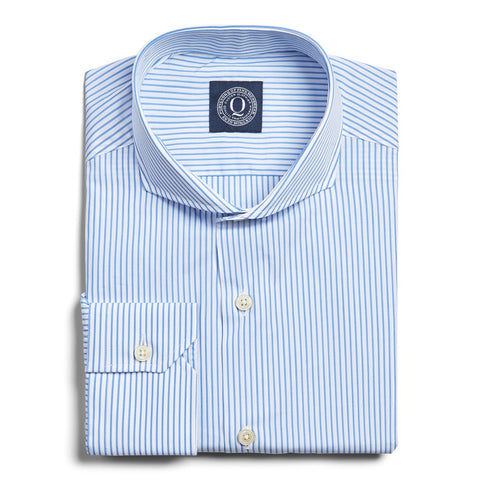 Wrinkle Resistant Stripe - Blue