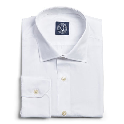 Wrinkle Resistant Pinpoint - White