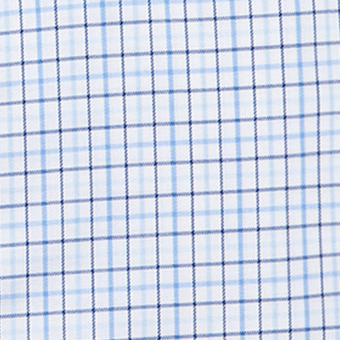 Twill Multi Check - Blue
