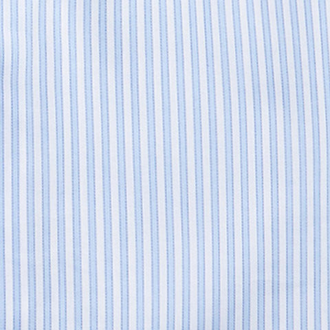 Twill Border Stripe - Blue