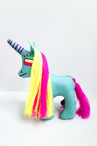 unicorn plush toy