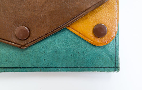 land & sea leather wallet