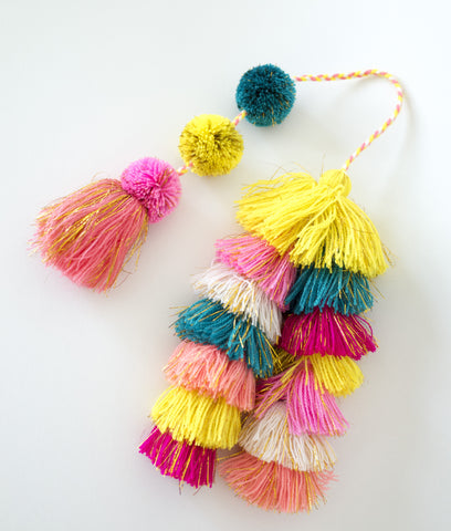 ray of sunshine tassels