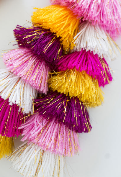 ray of sunshine tassels - sahara sunset
