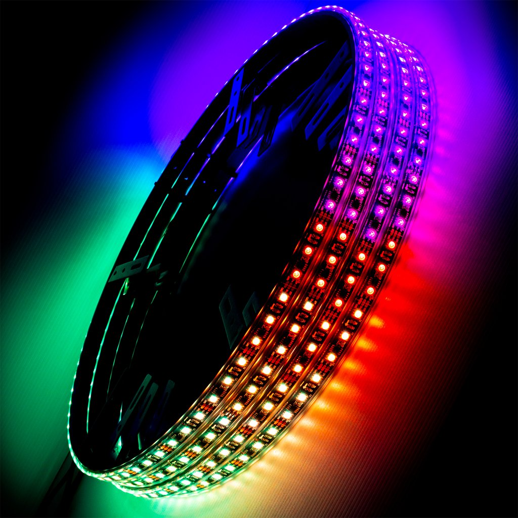 NEW PRODUCT: Dynamic ColorSHIFT Wheel Rings from ORACLE Lighting