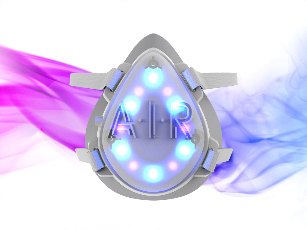 The Latest Weapon in the COVID-19 Battle - The A.I.R. Solo™ Virus Killing UV-Light Face Mask – Is Now Available For Order