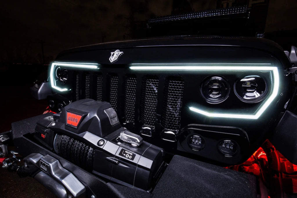 The Best Custom Jeep Grill: The Pro-Series Vector™ Grill for Wrangler JL