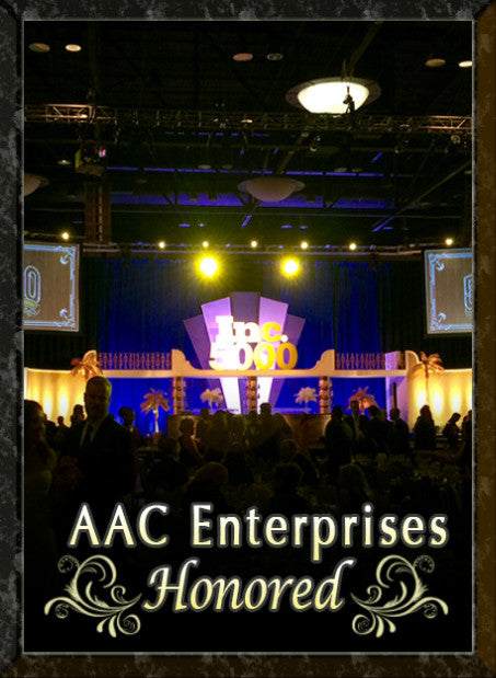 AAC Enterprises is honored at the 2015 INC 500/5000 Awards