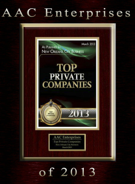 Top Private Companies New Orleans 2013