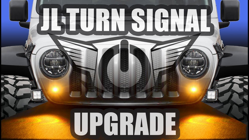 How to Relocate JL Turn Signals for $20 | ORACLE Lighting DIY