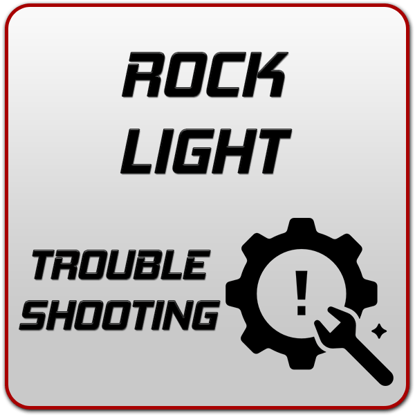Rock Light Troubleshooting Guide