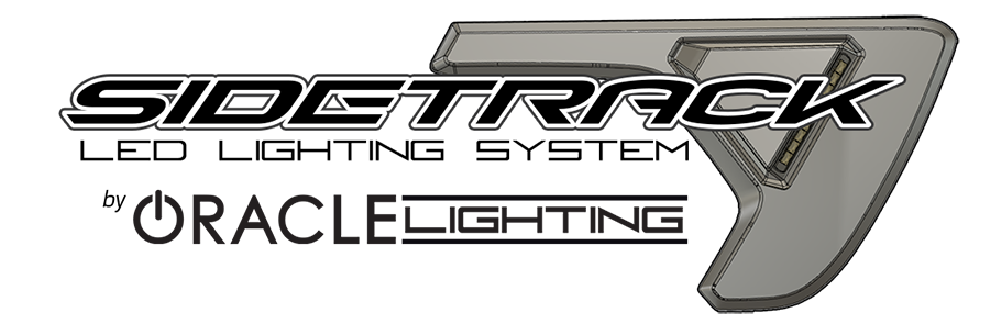 Just announced at SEMA: ORACLE Sidetrack™ Lighting System.