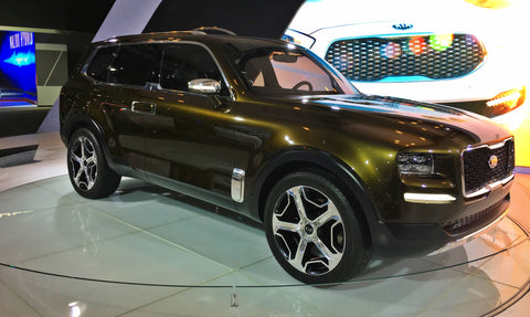 Brand new offroad vehicle Kia Telluride
