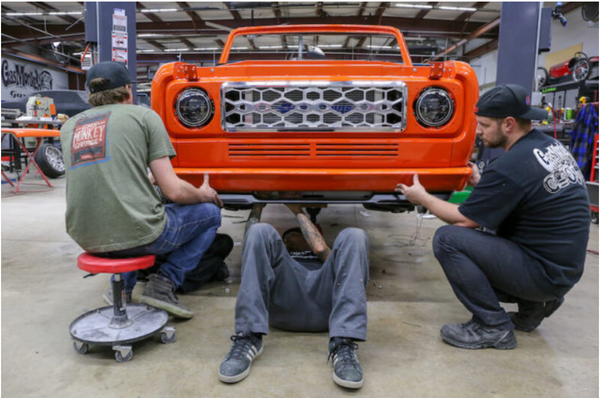 ORACLE Lighting LED Headlights featured on Gas Monkey Scout