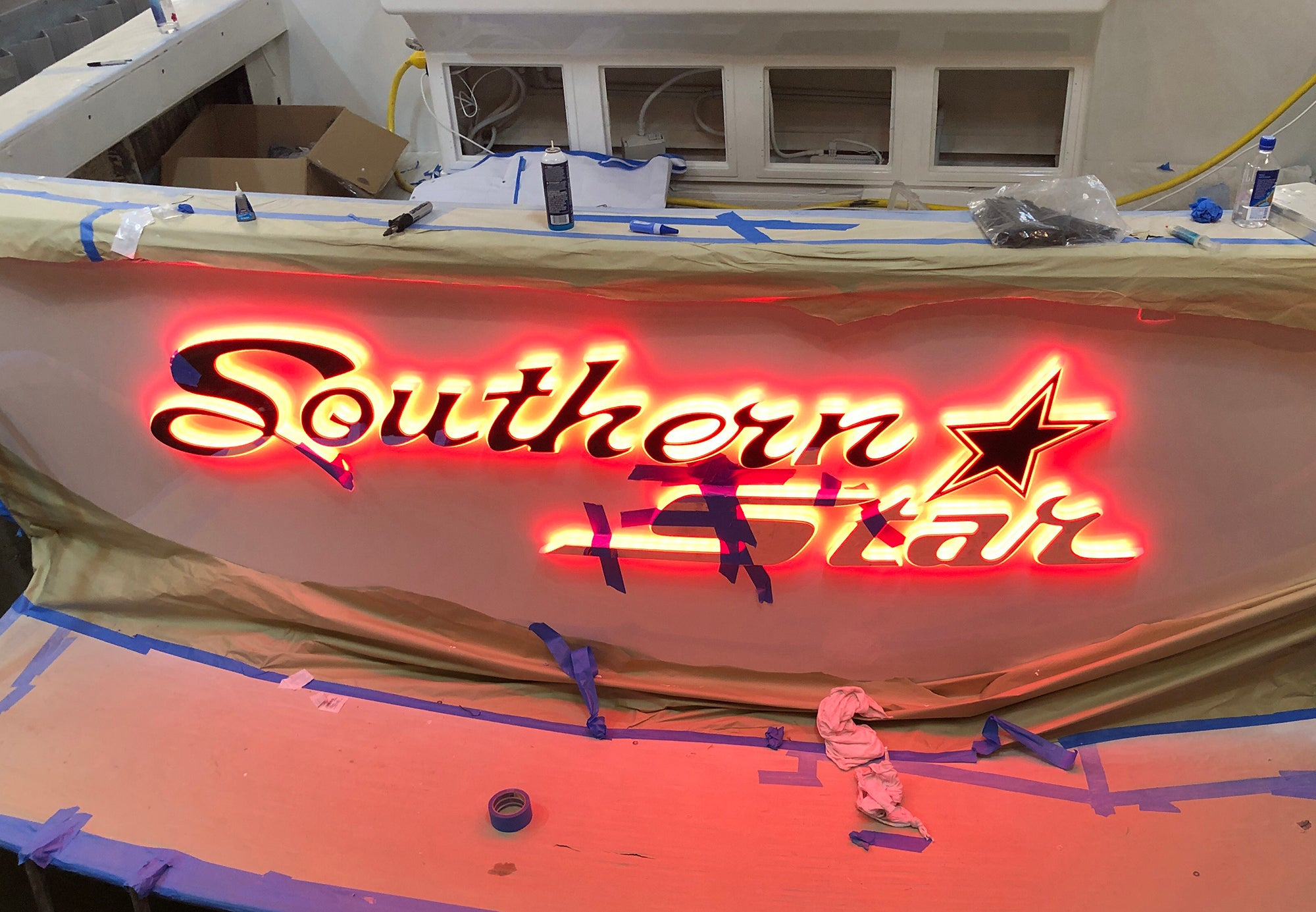 Souther Star Yacht Sign