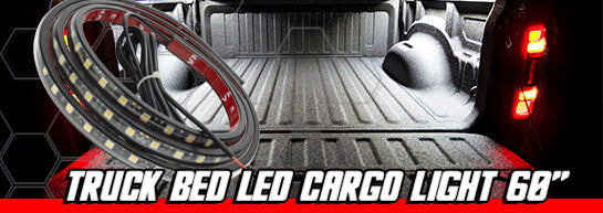 introducing the all new oracle truck bed cargo light kit  featuring dual  ip68 waterproof strips, this new kit allows for function and design by  illuminating