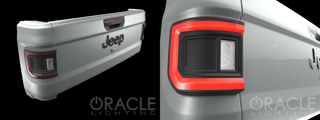Jeep Gladiator JT LED tail lights from Oracle Lighting