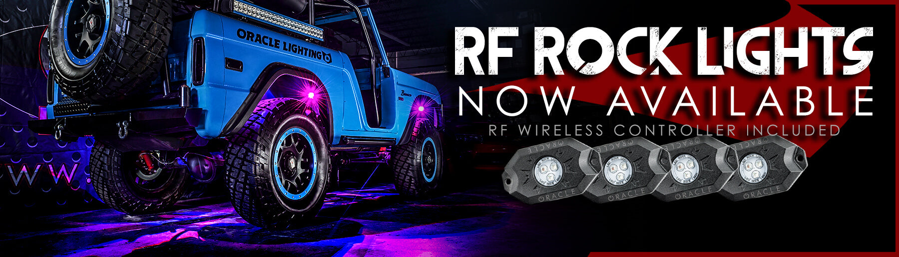 Off Road Underbody LED Rock Lighting Kits