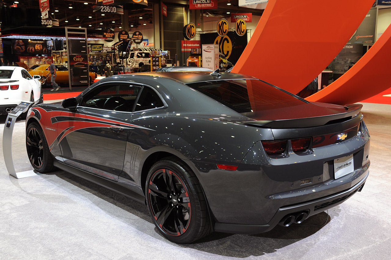 Third Silde: SEMA 2012 Tony Stewart Camaro ZL1 - Back Driver Side