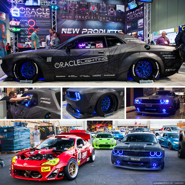Oracle Lighting at SEMA Show 2016