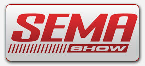 SEMA Show logo representing vehicle lighting installation company Oracle Lighting of Metairie, LA at SEMA Show 2018